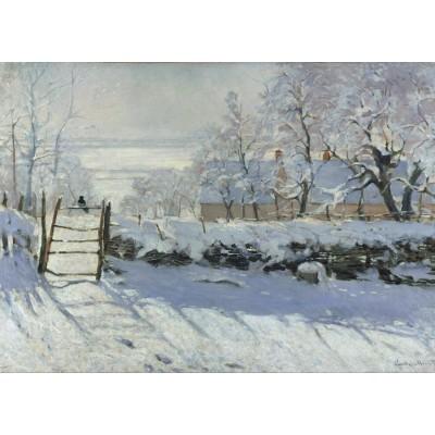 Puzzle  Grafika-Kids-00082 Claude Monet: Die Elster, 1868-1869