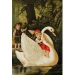 Puzzle  Grafika-Kids-00115 Hansel und Gretel, illustration von Carl Offterdinger