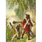 Puzzle  Grafika-Kids-00144 Robinson Crusoe von Offterdinger & Zweigle