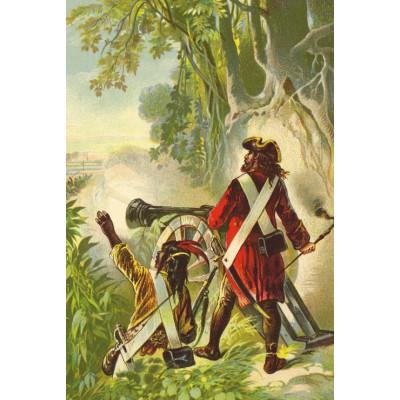 Puzzle  Grafika-Kids-00145 Robinson Crusoe von Offterdinger & Zweigle
