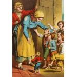 Puzzle  Grafika-Kids-00148 Der kleine Däumling, Illustration von Carl Offterdinger