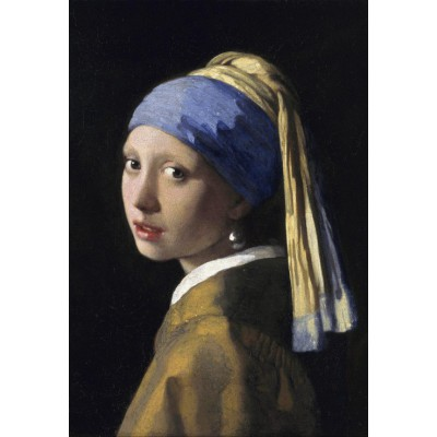 Puzzle  Grafika-Kids-00149 XXL Teile - Vermeer Johannes: Das Mädchen mit dem Perlenohrring, 1665