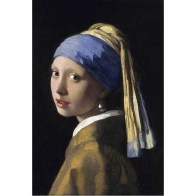 Puzzle  Grafika-Kids-00151 Vermeer Johannes: Das Mädchen mit dem Perlenohrring, 1665