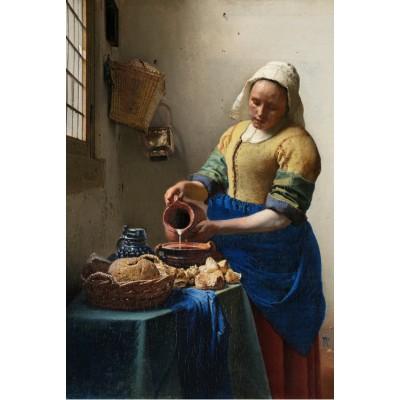 Puzzle  Grafika-Kids-00154 Johannes Vermeer: Die Küchenmagd, 1658-1661
