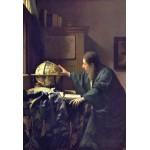 Puzzle  Grafika-Kids-00158 XXL Teile - Vermeer Johannes: Der Astronom, 1668
