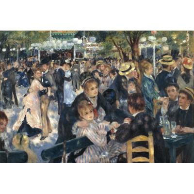 Puzzle  Grafika-Kids-00170 XXL Teile - Auguste Renoir : Bal du Moulin de la Galette, 1876