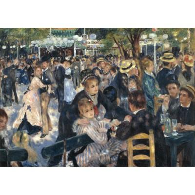 Puzzle  Grafika-Kids-00171 Auguste Renoir : Bal du Moulin de la Galette, 1876