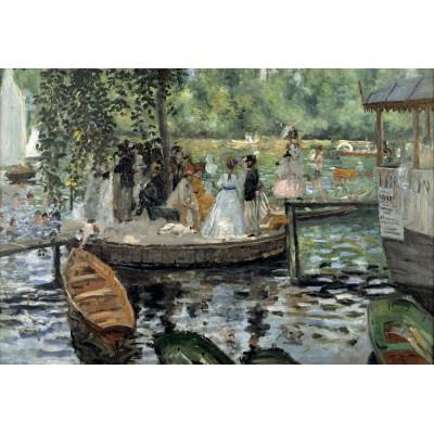 Puzzle  Grafika-Kids-00176 XXL Teile - Auguste Renoir: La Grenouillère, 1869