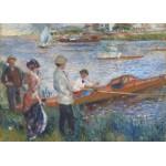 Puzzle  Grafika-Kids-00180 Renoir Auguste: Canoteurs à Chatou, 1879