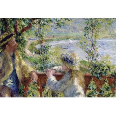Puzzle  Grafika-Kids-00185 XXL Teile - Renoir Auguste: Près du Lac, 1879