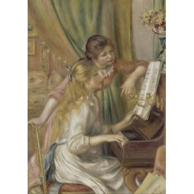 Puzzle  Grafika-Kids-00192 Auguste Renoir: Jeunes filles au piano, 1892