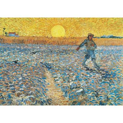 Puzzle  Grafika-Kids-00199 Magnetische Teile - Van Gogh: Der Säer, 1888