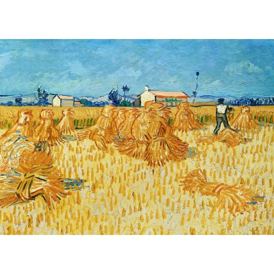 Puzzle  Grafika-Kids-00205 Magnetische Teile - Vincent van Gogh, 1888