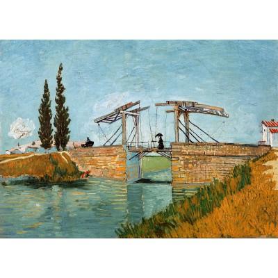 Puzzle  Grafika-Kids-00213 Magnetische Teile - Vincent van Gogh, 1888
