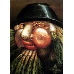 Puzzle  Grafika-Kids-00215 Magnetische Teile - Arcimboldo Giuseppe: Der Gemüsegärtner
