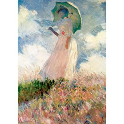 Puzzle  Grafika-Kids-00229 Magnetische Teile - Claude Monet: La Femme à l'Ombrelle, 1875