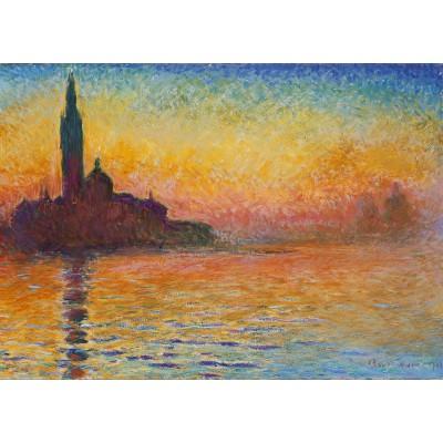 Puzzle  Grafika-Kids-00231 Magnetische Teile - Claude Monet: Saint-Georges-Majeur au Crépuscule, 1908