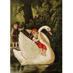 Puzzle  Grafika-Kids-00237 Magnetische Teile - Hansel und Gretel, illustration von Carl Offterdinger