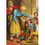 Puzzle  Grafika-Kids-00248 Magnetische Teile - Der kleine Däumling, Illustration von Carl Offterdinger
