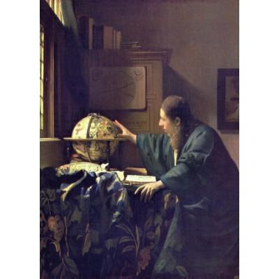 Puzzle  Grafika-Kids-00252 Magnetische Teile - Vermeer Johannes: Der Astronom, 1668