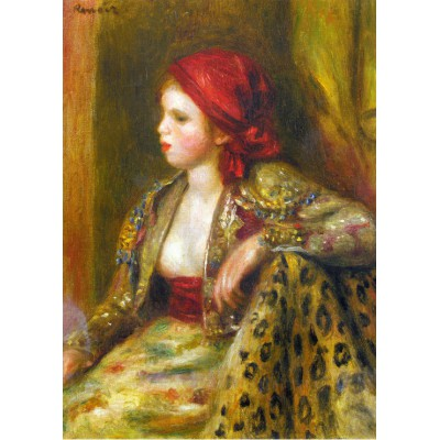 Puzzle  Grafika-Kids-00262 Magnetische Teile - Renoir Auguste: Odalisque, 1895
