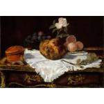 Puzzle  Grafika-Kids-00312 Edouard Manet - La Brioche, 1870