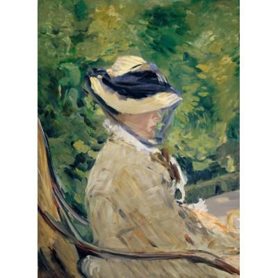 Puzzle  Grafika-Kids-00313 Edouard Manet - Frau Manet, 1880