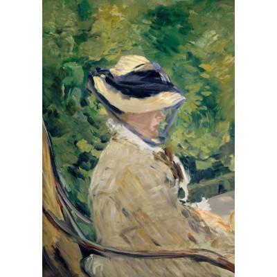 Puzzle  Grafika-Kids-00314 Edouard Manet - Frau Manet, 1880