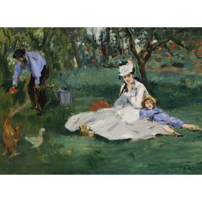 Puzzle  Grafika-Kids-00317 Edouard Manet - 1874
