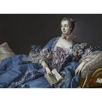 Puzzle  Grafika-Kids-00336 François Boucher: Madame de Pompadour, 1758