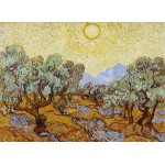 Puzzle  Grafika-Kids-00339 Vincent van Gogh: Olivenbäume, 1889
