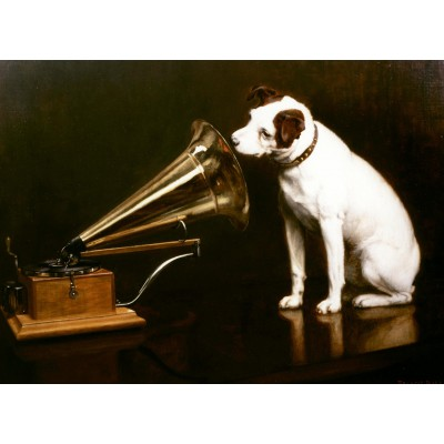 Puzzle  Grafika-Kids-00341 Francis Barraud: His Master's Voice