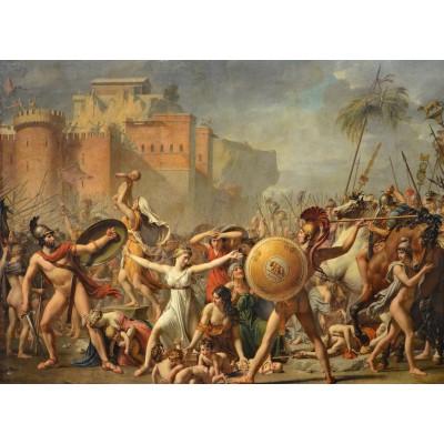 Puzzle  Grafika-Kids-00354 Jacques-Louis David: The Intervention of the Sabine Women, 1799