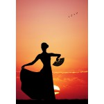 Puzzle  Grafika-Kids-00390 Flamenco at Sunset