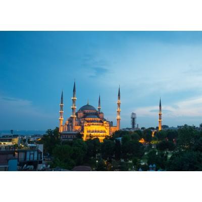 Puzzle  Grafika-Kids-00405 Blaue Moschee, Türkei