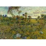 Puzzle  Grafika-Kids-00426 Magnetische Teile - Van Gogh: Sunset at Montmajour, 1888