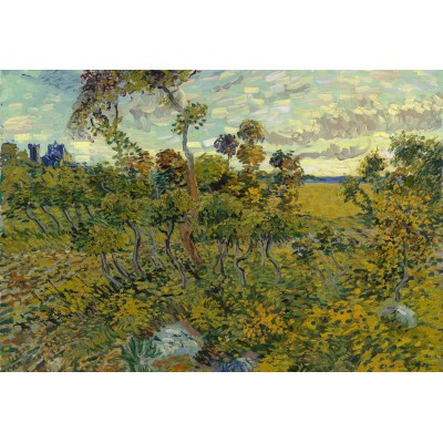 Puzzle  Grafika-Kids-00427 XXL Teile - Van Gogh: Sunset at Montmajour, 1888