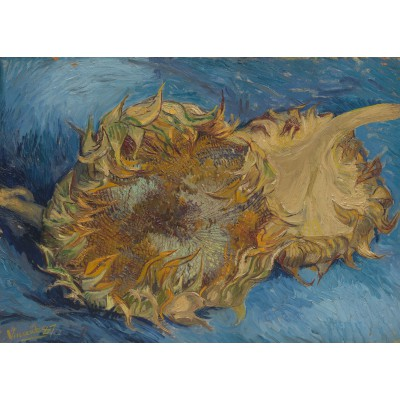 Puzzle  Grafika-Kids-00430 Van Gogh: Die Sonnenblumen, 1887