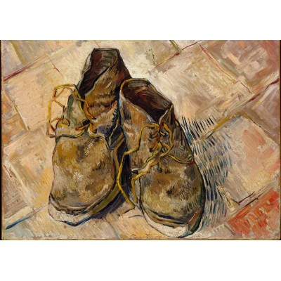 Puzzle  Grafika-Kids-00435 Van Gogh: Shoes, 1888