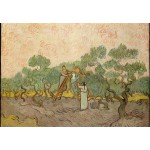 Puzzle  Grafika-Kids-00444 Van Gogh: Women Picking Olives,1889