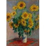 Puzzle  Grafika-Kids-00459 Magnetische Teile - Claude Monet: Bouquet of Sunflowers, 1881