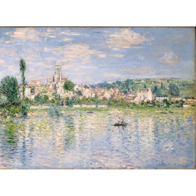 Puzzle  Grafika-Kids-00461 Claude Monet: Vétheuil im Sommer, 1880