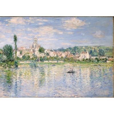 Puzzle  Grafika-Kids-00464 Magnetische Teile - Claude Monet: Vétheuil im Sommer, 1880