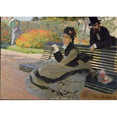 Puzzle  Grafika-Kids-00468 Claude Monet: Camille Monet, 1873