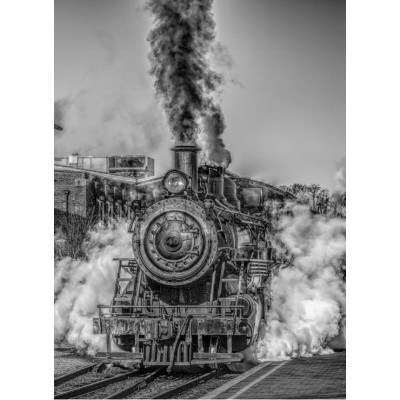 Puzzle  Grafika-Kids-00588 Dampflokomotive