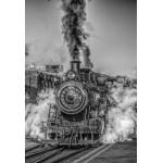 Puzzle  Grafika-Kids-00614 XXL Teile - Dampflokomotive