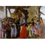 Puzzle  Grafika-Kids-00690 Sandro Botticelli: Adoration of the Magi (Zanobi Altar), 1475