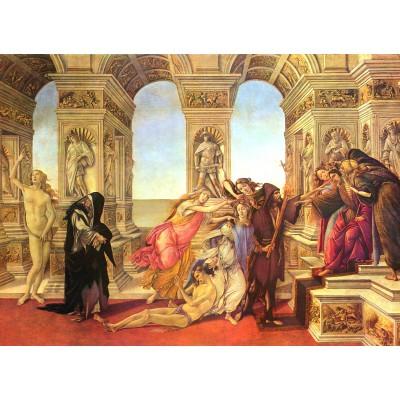 Puzzle  Grafika-Kids-00692 Sandro Botticelli: Die Verleumdung des Apelles, 1495-1497