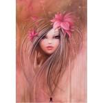 Puzzle  Grafika-Kids-00744 Misstigri: Sweet Pinky Girl