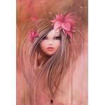 Puzzle  Grafika-Kids-00747 XXL Teile - Misstigri: Sweet Pinky Girl